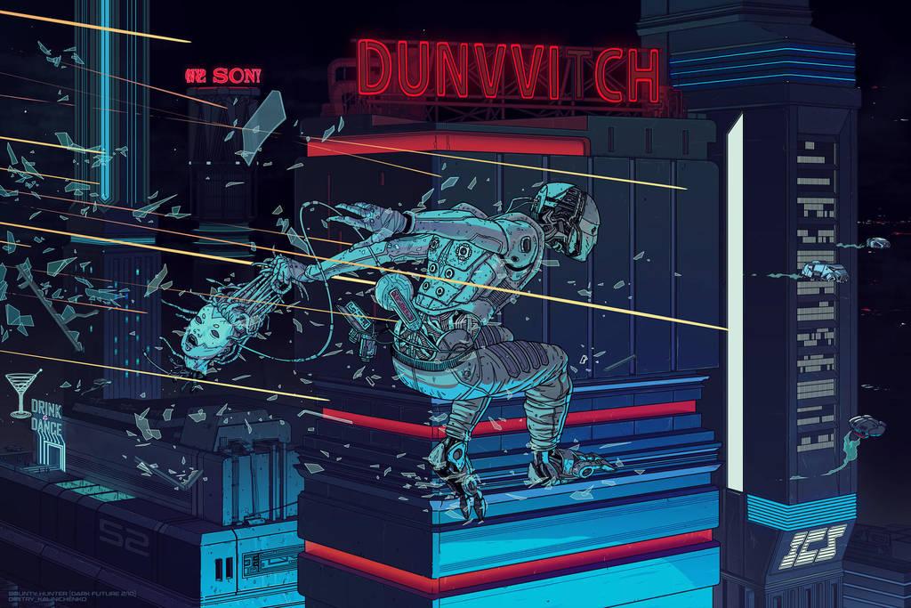 Bounty Hunter DARK FUTURE 2/10 by dkalinichenko
