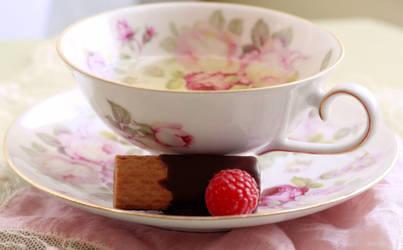 Afternoon tea II by MidnightMelodie