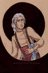 Berwyn - Inktober 4 by thetickinghearts