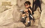 Busty Lara Croft by kondaspeter1