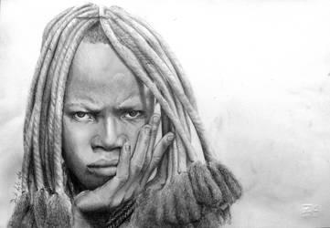 Himba Namibia ragazza by ddak4791