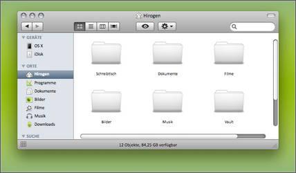 Mail Scrollbar for Leopard by cYPoHirogen