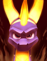Flame On! by IcelectricSpyro