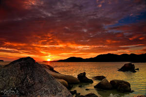 Sunset of PDL, Penang by fighteden