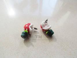 Chomp Chomp! - Piranha Plant - Mario Inspired by thingamajik