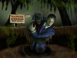 Tales from the Crypt quicksand by tlmolly86