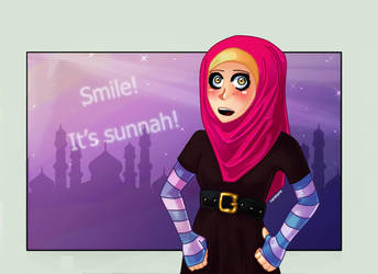 Smile. It's sunnah. by mariahpink