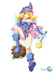 Fan Art Dark Magician Girl by Orcaleon