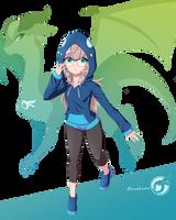 Orcaleon_Acro Blue by Orcaleon
