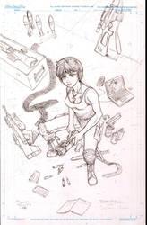 ThornRose -pencils by alberto311