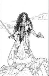 Magdalena Metal inks by alberto311