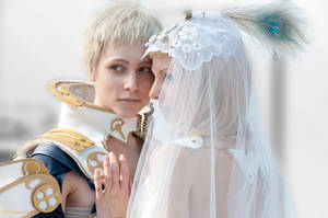 Final Fantasy XII Cosplay - Wedding Couple by diriagoly