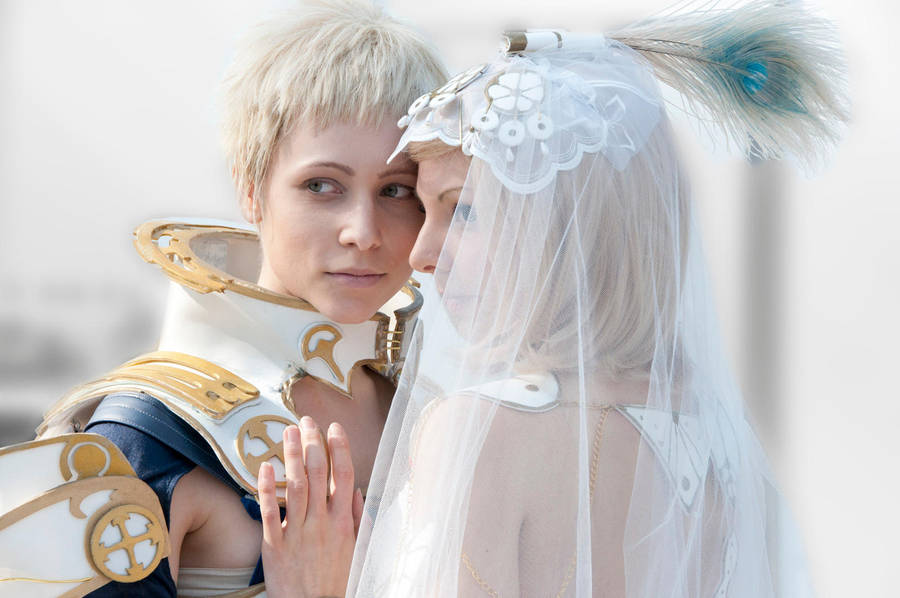Final Fantasy Xii Cosplay Wedding Couple By Diriagoly On Deviantart