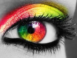 Rainbow Eye by letmebeme94