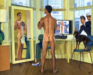 Self Reflection by paulypants