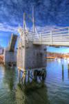 Perkins Cove Drawbridge HDR by NHWoodman