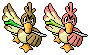 Farfetch'd Pixel-overs by Axel-Comics