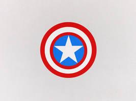 Captain America Wallpaper by oribaaa