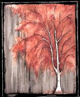 water color tree 1 by UpadanaSaddha