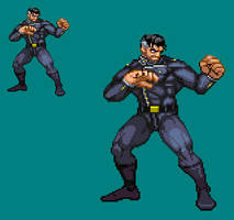 Sprite Work: Alexander 'Noble' Valiant (Earth-369) by SXGodzilla