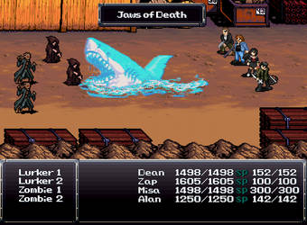 Sprite Stuff: Fake 'Horror Heroes' RPG 15 by SXGodzilla