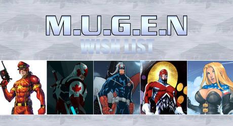 Misc - Mugen Wishlist - Comics2 by SXGodzilla