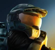 Master Chief: Halo 3 by Zippy5454