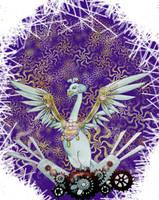 Edel: The mechanical swan by FukaruRhyan