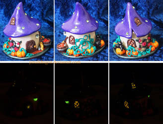 Halloween Fairy House (Glow in the Dark) by JSmallDragon