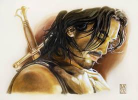 Warrior by dmkozicka