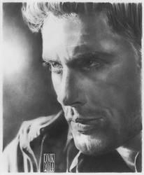 Jensen Ackles portrait by dmkozicka