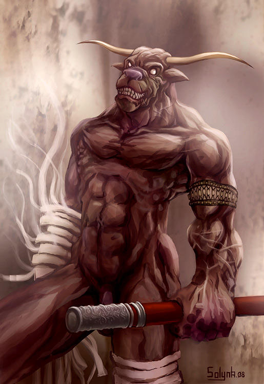 Apis-the-sacred-bull_by-solynk by SOLYNK