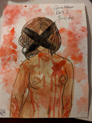Goretober day 2(Suicide) by Two-broke-fangirls