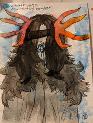 Goretober day 5(Man-eating monster) by Two-broke-fangirls