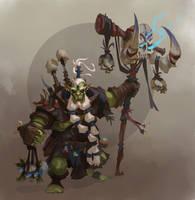 ork-shaman by Trufanov