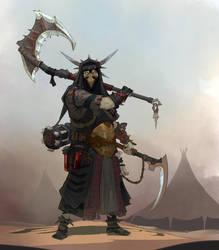 Fantasy character by Trufanov