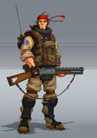 SHOOTGUN man by Trufanov