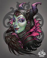 Mistress of Evil by Medusa-Dollmaker