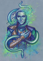 Burdened with glorious purpose by Medusa-Dollmaker