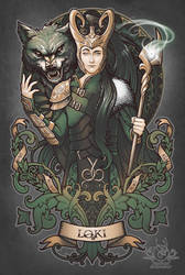 House of Loki: Sons of Mischief by Medusa-Dollmaker