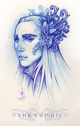 The King in the Woodland Realm by Medusa-Dollmaker