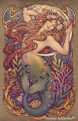 Andersen's Little Mermaid by Medusa-Dollmaker