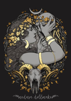 The WITCH by Medusa-Dollmaker