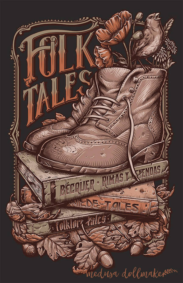 FOLK TALES by Medusa-Dollmaker