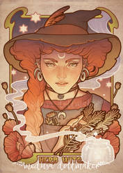 HERB WITCH by Medusa-Dollmaker