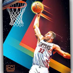 Blake Griffin NBA Skybox inspired design by skythlee