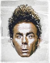 Cosmo Kramer Seinfeld Fan Art by skythlee