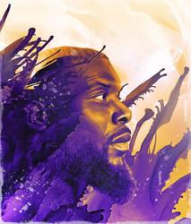 Lance Stephenson NBA Art by skythlee