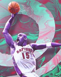 Vince Carter NBA Artwork by skythlee