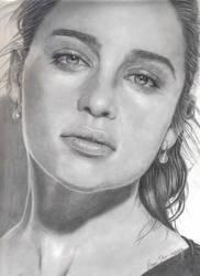 Emilia Clarke (Daenerys Targaryen) by prod44